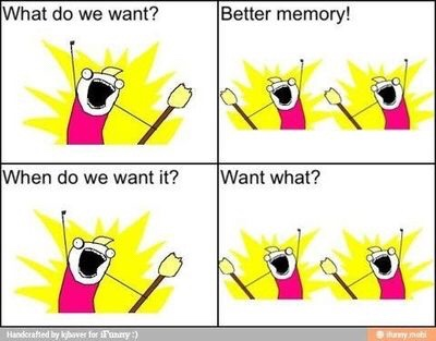 Memory issues