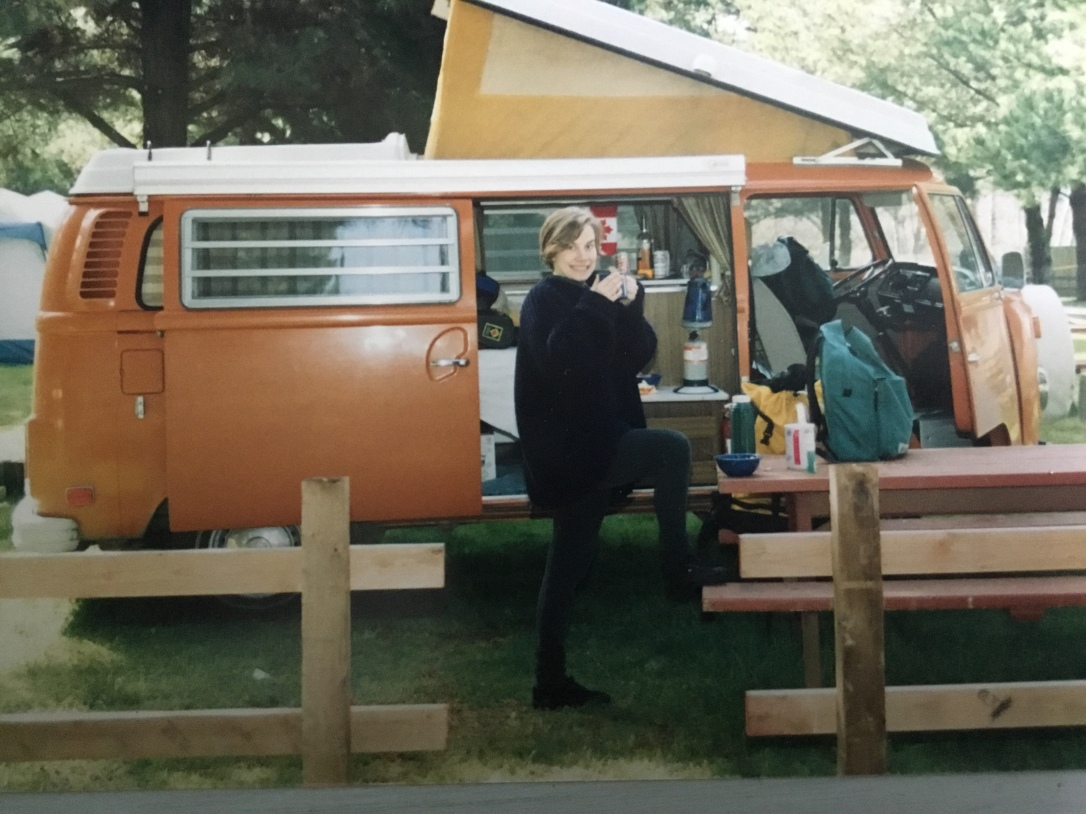 Westfalia camper, pop-top, travelling, camping